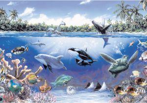 Sea Life Murals Photo Wall Mural Free Sea Life Ocean Wall Mural Murals for Kids