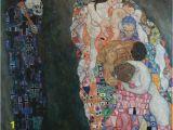 Sea Life Murals Photo Wall Mural Gustav Klimt Life and Death Wall Mural Vinyl