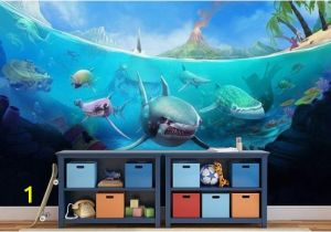 Sea Life Murals Photo Wall Mural Underwater Wallpaper Underwater Wall Mural Underwater Wall