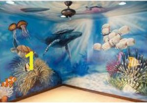 Sea Life Wall Murals 16 Best Aquarium Bulletin Board Mural Images