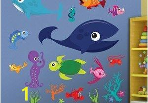 Sea Life Wall Murals Always Growing and Changing Just Like Our Kids Drawing