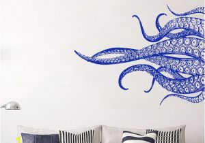 Sea Life Wall Murals Octopus Tentacles Wall Art Decal Measurements Available