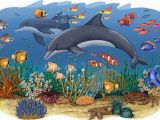 Sea Life Wall Murals Pin by tony Shuff On Church Nursery Kid S Murals Pinterest