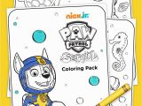 Sea Patrol Paw Patrol Coloring Pages Sea Patrol Coloring Pack