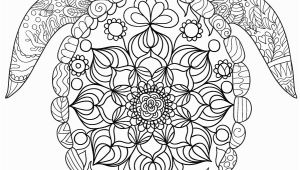 Sea Turtle Coloring Pages for Adults Sea Turtle Adult Coloring Page