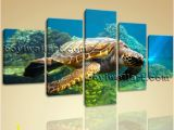Sea Turtle Wall Mural Wall Art Hd Print Canvas Sea Turtle Decorative Mural Abstract