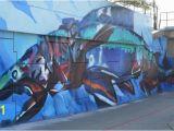 Sea Walls Murals for Oceans Napier D River