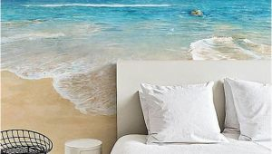 Sea Walls Murals for Oceans Watercolor Beach Wallpaper Epic Sea Wall Mural Blue by Dreamywall