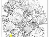 Seashore Coloring Pages 371 Best Coloring Book Fish Sea Life Seashells Images On