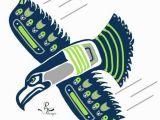 Seattle Seahawks Wall Mural Seahawks Go Hawks