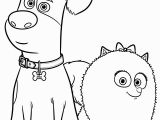 Secret Life Of Pets Printable Coloring Pages the Secret Life Of Pets Coloring Pages Print them for Free