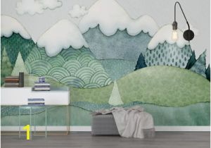 Self Adhesive Wall Murals Stickers 3d Nursery Kids Mountain Self Adhesive Removeable Wallpaper