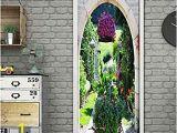 Self Adhesive Wall Murals Stickers Amazon Qizhan541 Door Stickerdiy Door Sticker