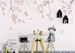 Self Adhesive Wall Murals Stickers Self Adhesive 3d Painted Flower Branch Wc0770 Wall Paper Mural Wall Print Decal Wall Murals Muzi In Wallpaper Wallpapers From