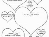 Self Esteem Coloring Pages Valentines Worksheets