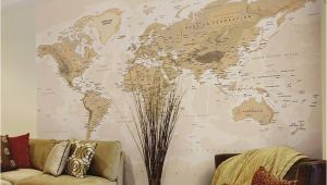 Sepia Wall Murals Sepia World Wall Mural Wall Mural at Allposters