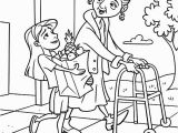 Serving Others Coloring Pages Helping People Drawing at Getdrawings