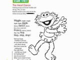 Sesame Street Coloring Pages Zoe Zoe Coloring Pages