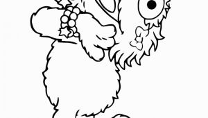 Sesame Street Coloring Pages Zoe Zoe Laying On Floor Coloring Page 670—867