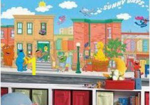 Sesame Street Wall Mural 16 Best Sesame Street Bedroom Images