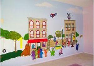 Sesame Street Wall Mural 35 Best Murals & Painting Images