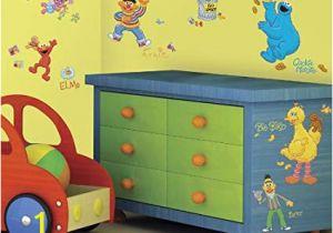 Sesame Street Wall Mural Amazon Sesame Street Wall Decal Cutouts Home & Kitchen