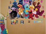 Sesame Street Wall Mural Roommates Rmk1384scs Wall Decal Sesame Street Wall Decor Stickers