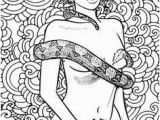 Sexual Coloring Pages 902 Best Beautiful Women Coloring Pages for Adults Images On