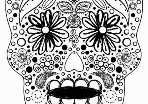 Sexy Adult Coloring Pages Sugar Skull Coloring Sheet
