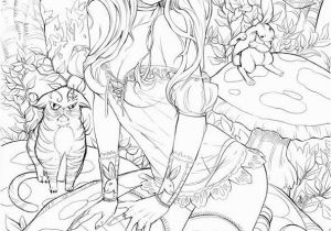 Sexy Fairy Coloring Pages Elite Alice Bw by toolkittenviantart On Deviantart