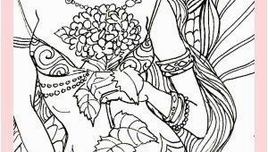 Sexy Mermaid Coloring Pages Y Adult Mermaid Coloring Page Fabric Block Crafts 8×10 Dm2