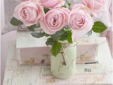 Shabby Chic Wall Murals Shabby Chic Decor Pink Roses Bedroom Decor Dreamy Pink