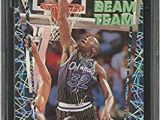 Shaquille O Neal Coloring Pages Amazon 1992 93 Stadium Club Beam Team 21 Shaquille O Neal