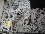 Sharpie Wall Mural Zentangle Uniposca Cerca Con Google Diy for Le Home