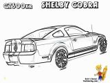 Shelby Mustang Coloring Pages Fierce Car Coloring ford Cars Free Mustangs T Bird