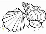 Shell Coloring Pages Sea Animals Coloring Pages