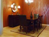 Sherwin Williams Murals Hand Painted Copper Trees Mural On Roycroft Copper Red From