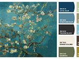 "Sherwin Williams Murals Van Gogh ""cherry Blossoms"" Chip It by Sherwin Williams – Home"