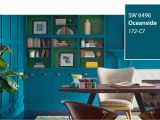 Sherwin Williams Wall Murals Introducing the 2018 Color Of the Year Oceanside Sw 6496