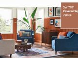 Sherwin Williams Wallpaper Murals Color Of the Year 2019 Cavern Clay