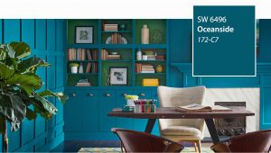 Sherwin Williams Wallpaper Murals Introducing the 2018 Color Of the Year Oceanside Sw 6496