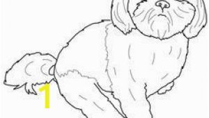 Shih Tzu Coloring Page New Cute Shih Tzu Coloring Pages – Tylerhedrick