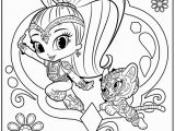 Shimmer and Shine Coloring Pages Online Shimmer and Shine Coloring Pages