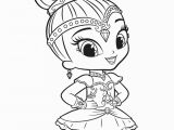 Shimmer and Shine Coloring Pages Online Shimmer Shine Coloring Pages at Getdrawings