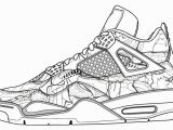 Shoe Coloring Pages Printable Jordan Shoes Coloring Page Clip Art Library