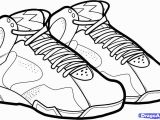 Shoe Coloring Pages Printable Michael Jordan Coloring Pages