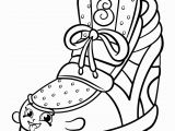 Shoe Coloring Pages Printable Shopkins Coloring Pages
