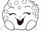 Shopkins Kooky Cookie Coloring Page Elegant Cookie Shopkins Coloring Pages