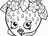 Shopkins Kooky Cookie Coloring Page Strawberry Kiss Shopkin Coloring Page Free Printable Pages and