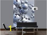 Silver orbs Wall Mural 10 Best Wallpaper Images In 2019